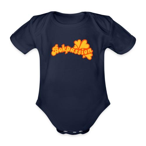 BOKPASSION - Ekologisk kortärmad babybody