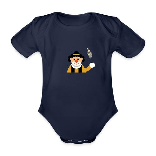 Clown - Baby Bio-Kurzarm-Body