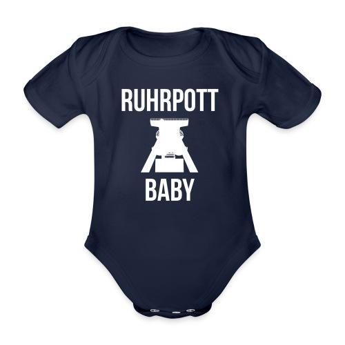RUHRPOTT BABY - Deine Ruhrpott Stadt - Baby Bio-Kurzarm-Body