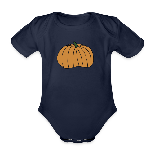 Gresskar Halloween Collection - Økologisk kortermet baby-body