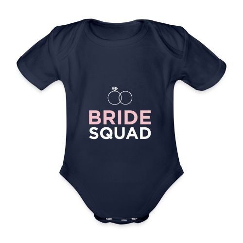 Bride Squad - Baby Bio-Kurzarm-Body