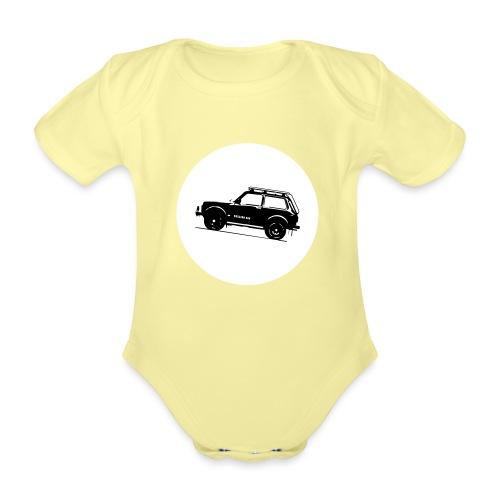 Lada Niva Kreis - Baby Bio-Kurzarm-Body