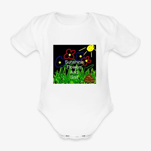 46F0F1F7 1A1F 49BC B472 BF5E2ADEC83A - Organic Short-sleeved Baby Bodysuit