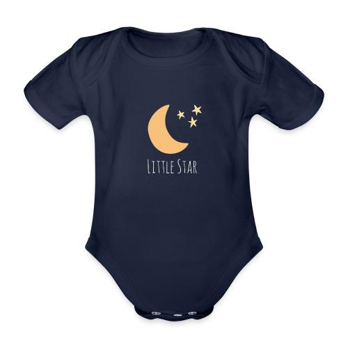 Little Star - Organic Short-sleeved Baby Bodysuit