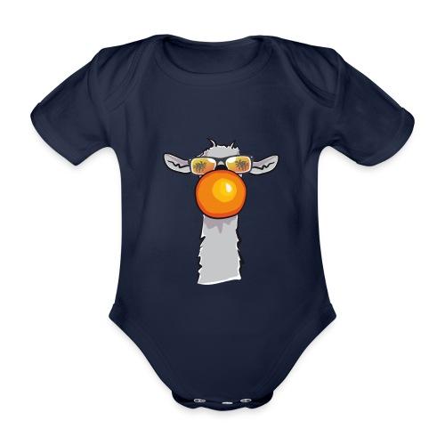 Chewing Llama - Baby Bio-Kurzarm-Body