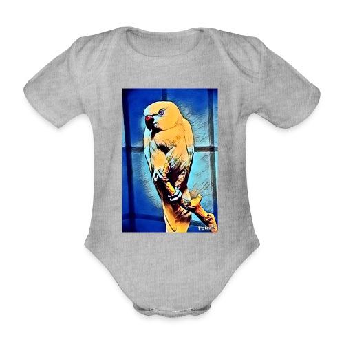 Bird in color - Vauvan lyhythihainen luomu-body