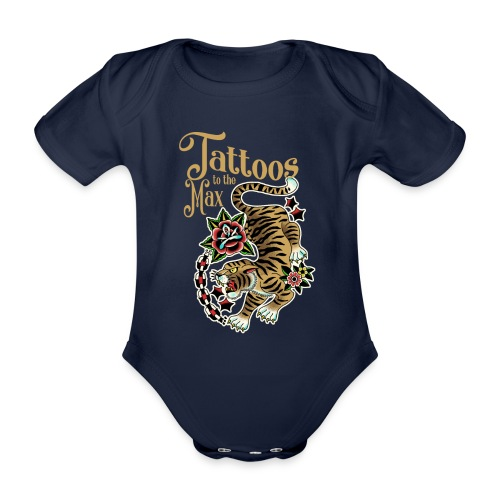 Tattoos to the Max - Tiger Unchained - Baby Bio-Kurzarm-Body
