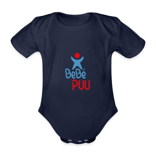 manga corta bebepuu.com - Body orgánico de maga corta para bebé