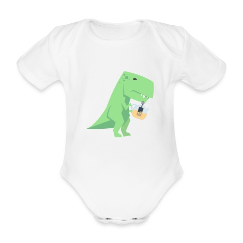 Tea-Saurus - Baby Bio-Kurzarm-Body
