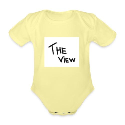 Untitled - Baby bio-rompertje met korte mouwen