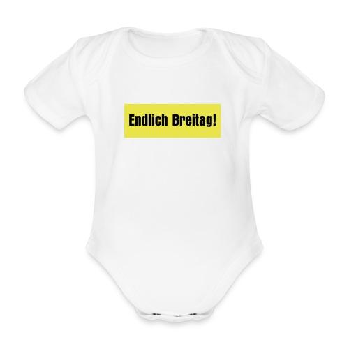 endlich breitag - Baby Bio-Kurzarm-Body