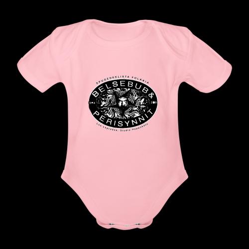 Belsebub&Perisynnit - Vauvan lyhythihainen luomu-body