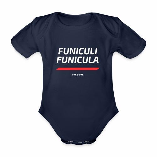 Funicula Funicula - Body Bébé bio manches courtes