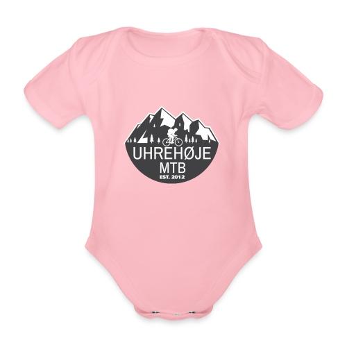 UhreHøje MTB - Kortærmet babybody, økologisk bomuld