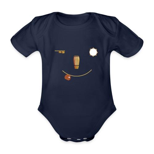 Bateria Alegra - Organic Short-sleeved Baby Bodysuit