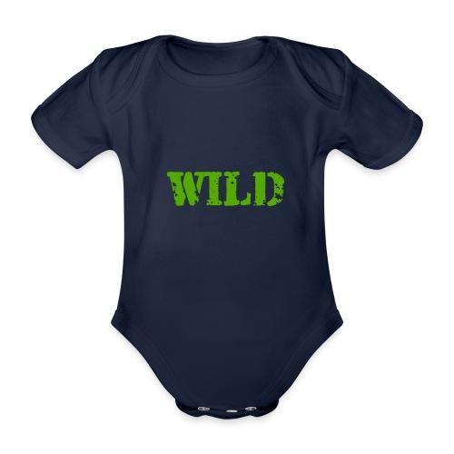 wild - Body ecologico per neonato a manica corta