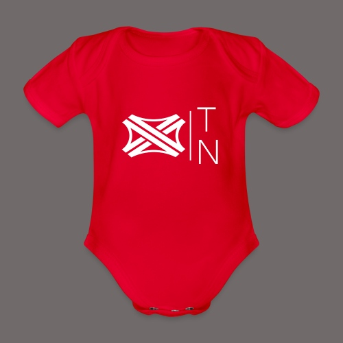 Tregion logo Small - Organic Short-sleeved Baby Bodysuit
