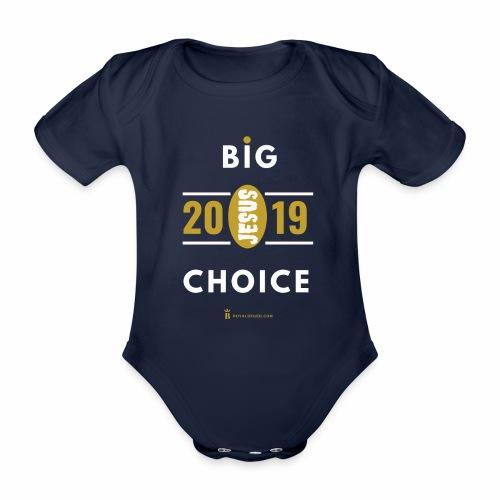 2019 Choice - Body Bébé bio manches courtes