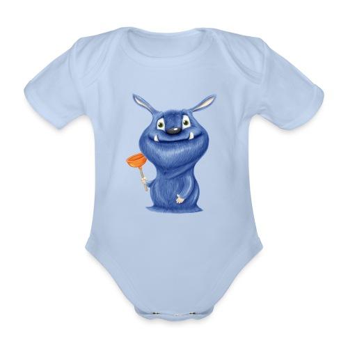 Pümpelmonster - Baby Bio-Kurzarm-Body