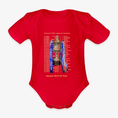Montrose League Cup Tour - Organic Short-sleeved Baby Bodysuit