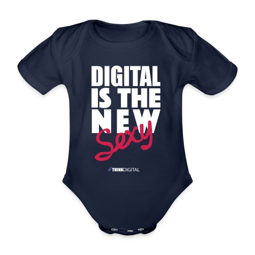 DIGITAL is the New Sexy - Body ecologico per neonato a manica corta