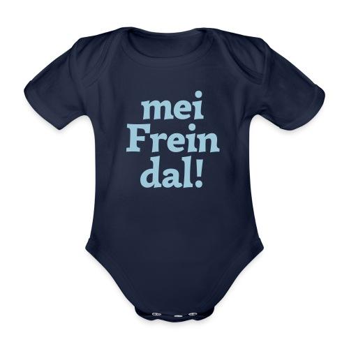 mein Freindal (hochdeutsch: mein Freund[chen]) - Baby Bio-Kurzarm-Body