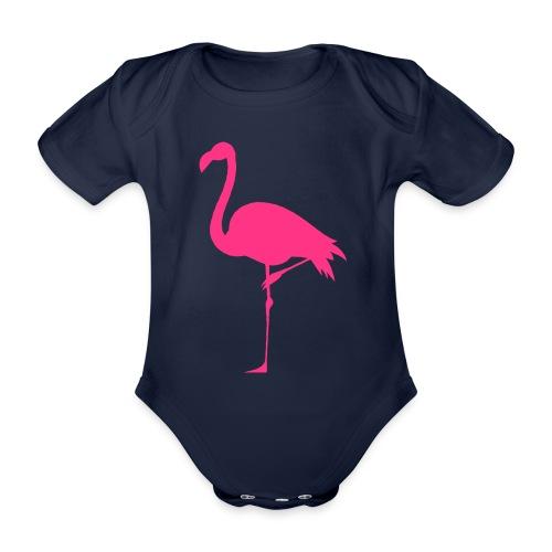 Freaking Flamingo - Ekologisk kortärmad babybody