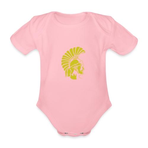 Topeka High School merch - Organic Short-sleeved Baby Bodysuit