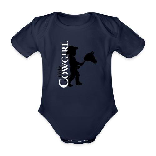 LittleCowgirl's - Baby Bio-Kurzarm-Body
