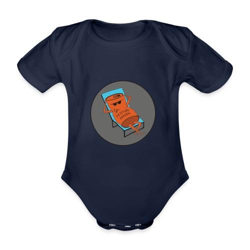 Festivalpodden - Loggan - Ekologisk kortärmad babybody