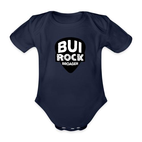 BUI ROCK - Kortærmet babybody, økologisk bomuld