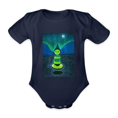 Humanoid - Vauvan lyhythihainen luomu-body