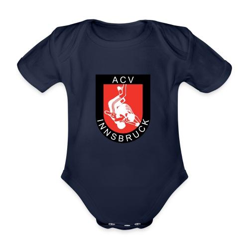 AC Vollkraft Logo - Baby Bio-Kurzarm-Body