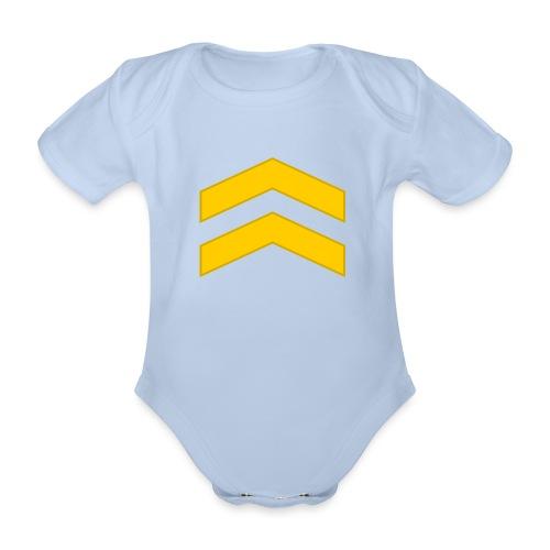 Alikersantti - Vauvan lyhythihainen luomu-body
