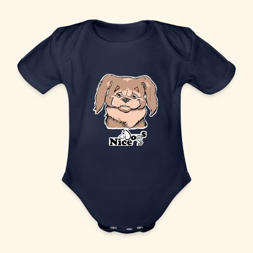 PECHINESE 2 - Body ecologico per neonato a manica corta
