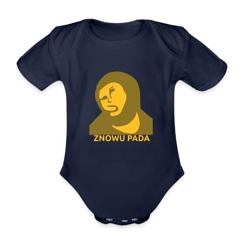 Znowu pada Jeżus z Borja - Ekologiczne body niemowlęce z krótkim rękawem