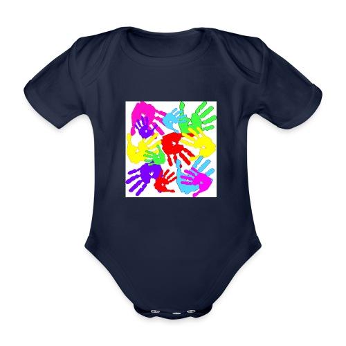 pastrocchio2 - Body ecologico per neonato a manica corta