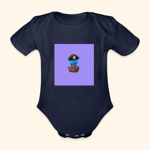HCP custo 1 - Organic Short-sleeved Baby Bodysuit