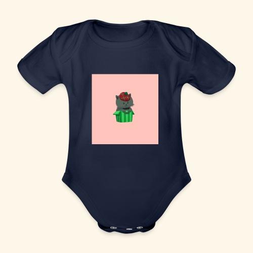 HCP custo 7 - Organic Short-sleeved Baby Bodysuit