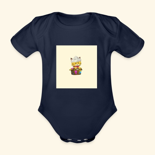 HCP custo 6 - Organic Short-sleeved Baby Bodysuit