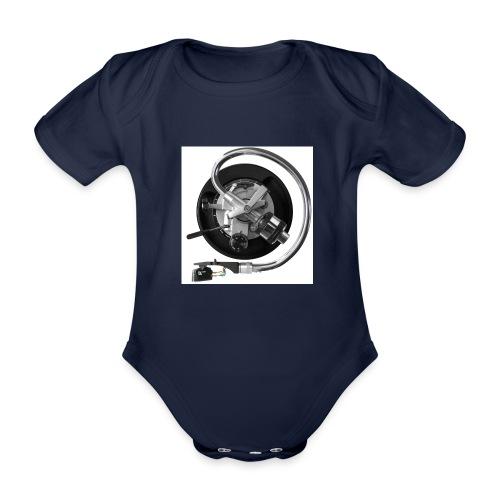120dpiliebrandslarm - Baby bio-rompertje met korte mouwen