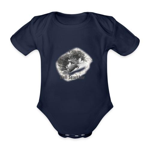 I am Hell Searcher, T-Shirt Women - Organic Short-sleeved Baby Bodysuit