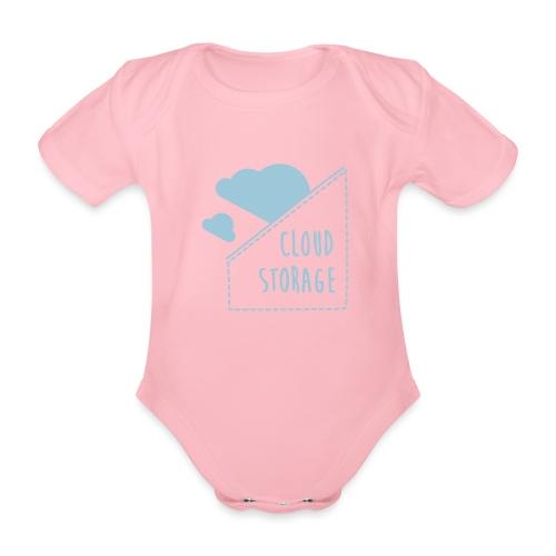 Cloud Storage - Baby Bio-Kurzarm-Body
