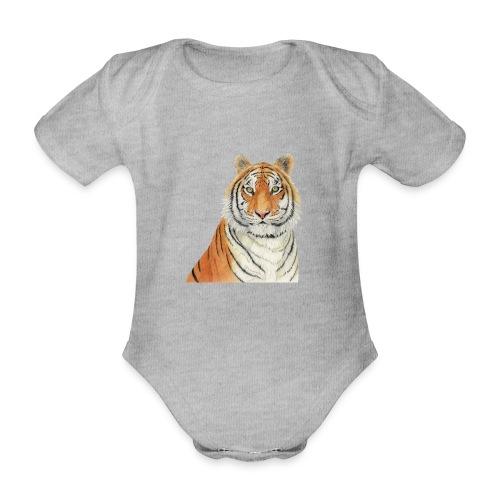 Tigre,Tiger,Wildlife,Natura,Felino - Body ecologico per neonato a manica corta