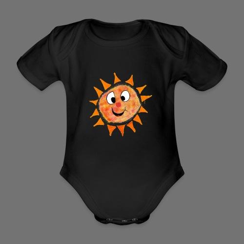 Sol - Kortærmet babybody, økologisk bomuld