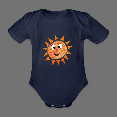 Słońce - Ekologiczne body niemowlęce z krótkim rękawem