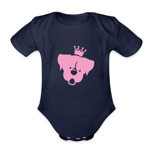 Prinz Poldi rosa - Baby Bio-Kurzarm-Body