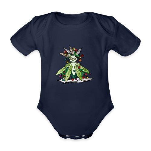 ille die Hüterin der Wiesen - Baby Bio-Kurzarm-Body