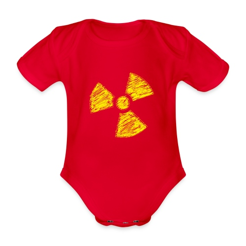 Radioactive - Baby bio-rompertje met korte mouwen