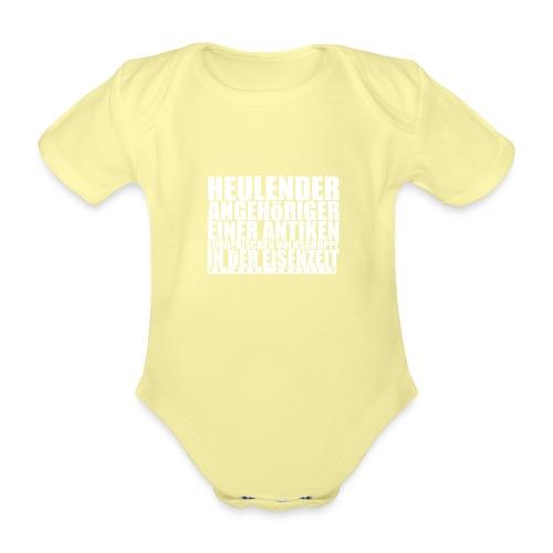 Gefühlskelte_VORNE - Baby Bio-Kurzarm-Body